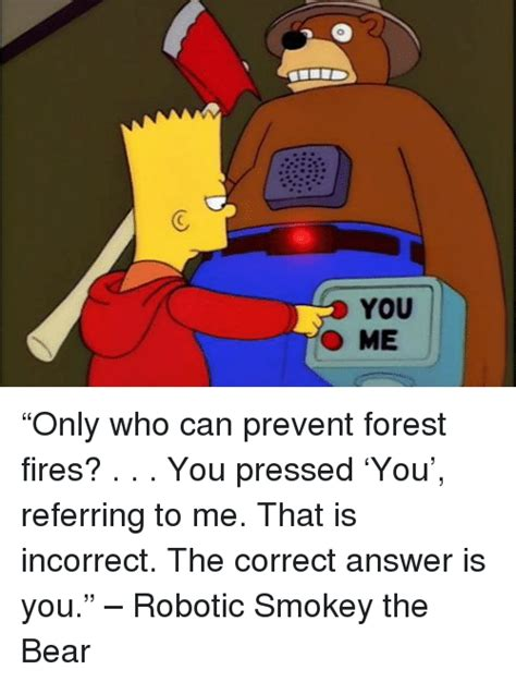 Only You Can Prevent Forest Fires Meme