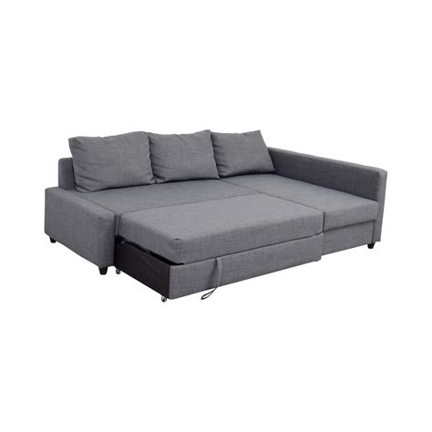 Ikea Sectional Sleeper Sofa 41 Ikea Ikea Grey Sleeper Chaise Sectional Sofas