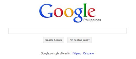 Philippines Search Free Search Philippines Added Cebuano Languages