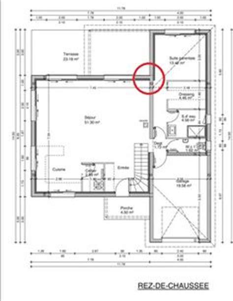 Chignon De Maison Mérule 2520 plans de maison rdc du mod 232 le senior maison