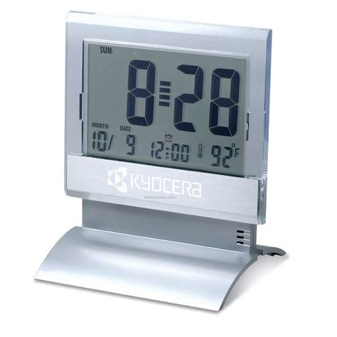 desk alarm clock large display digital desk clock w alarm thermometer 3