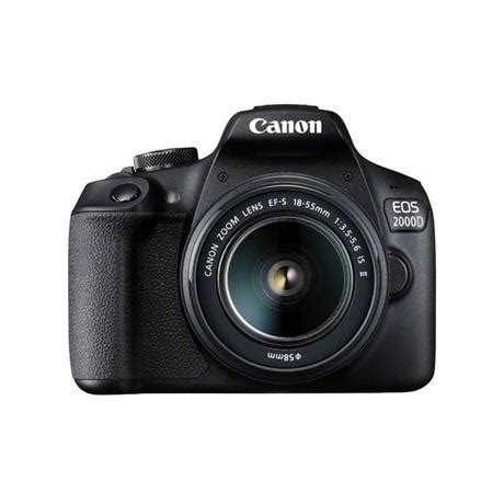 canon eos 200d dslr camera + ef s 18 55mm is ii lens