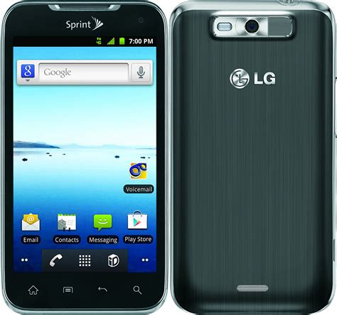 sprint android phones lg viper ls840 android smartphone sprint pcs gray mint condition used cell phones cheap