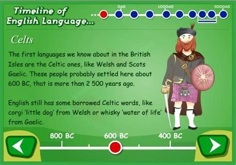 language history besbello tic timeline of language