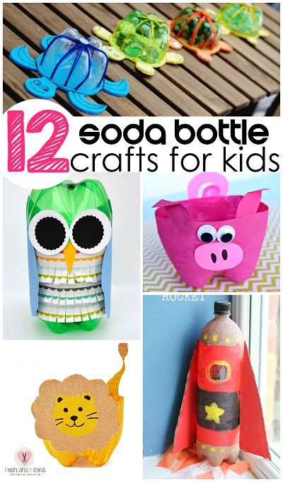 soda bottle crafts for crafts with soda bottles just b cause