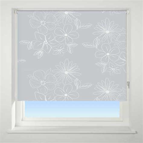 grey patterned blackout blind universal patterned thermal blackout roller blinds