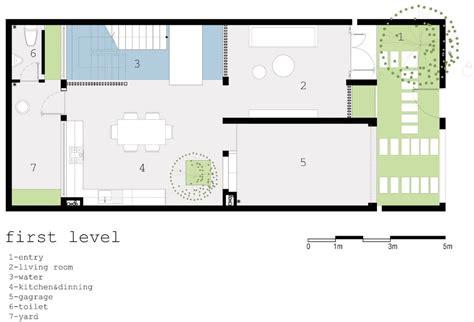 patio interior pequeño planos de casas con patio interior plano casa pequea dos