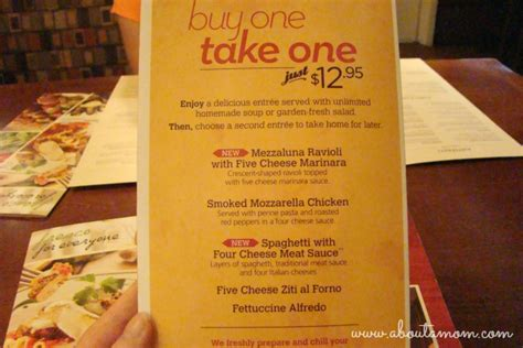 Olive Garden Buy One Take One Menu by And Burgers What Will Olive Garden Do Next