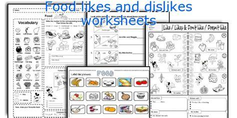 100 likes and dislikes worksheets verbs worksheets