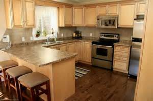 Kitchen Floor Ideas With Light Maple Cabinets Light Hardwood Floors With Cabinets