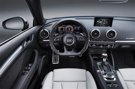interior audi a3 sportback new audi rs3 sportback 2017 revealed pictures auto express