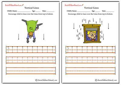 standing line pattern worksheets for kindergarten tracing standing lines aussie childcare network