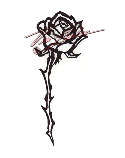 single rose tattoo design tattoos page 76