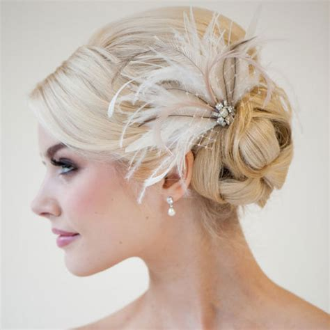 Wedding Hair Pieces by Feather Wedding Hair Pieces Newhairstylesformen2014