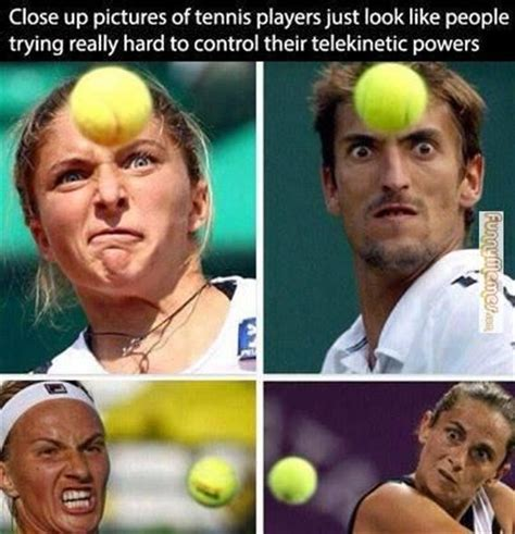 Tenis Meme - funny memes closeup pictures of tennis players sports