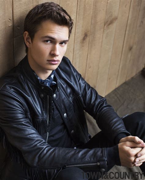 ansel elgort ansel elgort town and country ansel elgort photos by