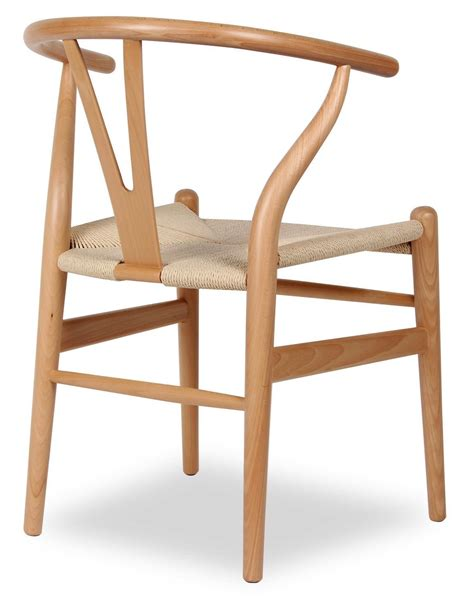 On A Chair - wood wishbone y chair black dining chairs