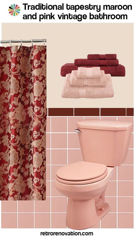 pink and burgundy bathroom 25 best ideas about maroon bathroom on pinterest rustic