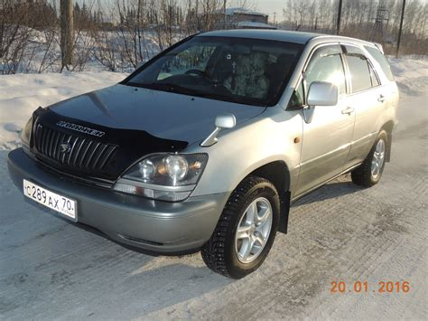 toyota harrier 2000 toyota harrier 2000 всем привет автомат