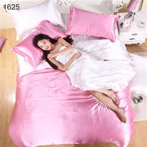 silk bed sheets queen wholesale white silk and cotton bedding bedclothes silk