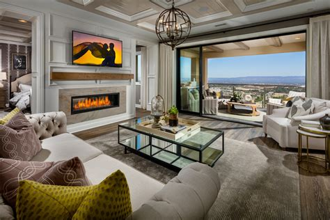 Master Bedroom Retreat westcliffe at porter ranch palisades collection the