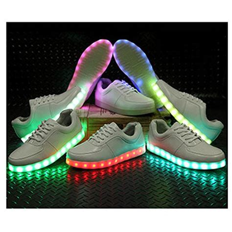 led light up shoes amazon bewild brand deluxe rechargeable led light up sneakers