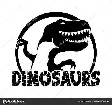 imagenes en negro para estar los dinosaurios negro signo vector de stock 169 taronin