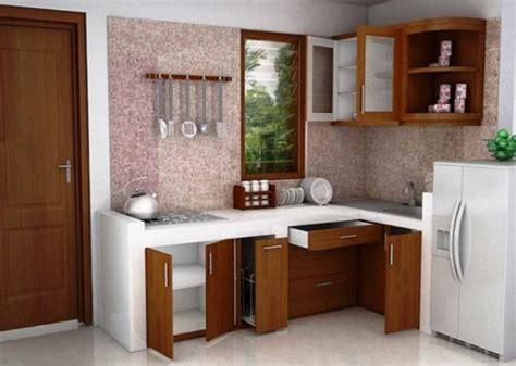 desain lemari dapur kecil desain dapur minimalis kecil tanpa kichen set rumah