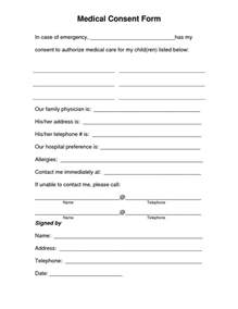 Permission Letter Hospital Consent Form For Children Search Awana Search