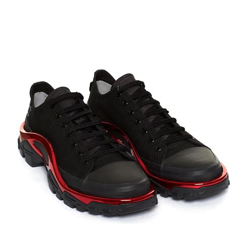 raf simons shoes all black new runner sneakers from the f w2017 18 raf simons x adidas collection in black
