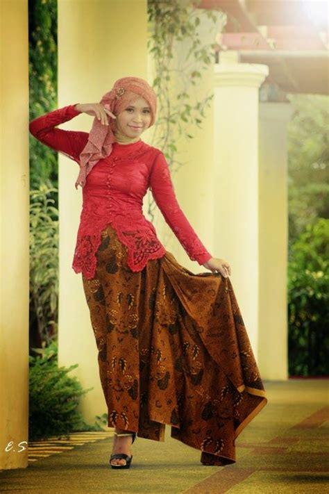 model kebaya kartini hijab modern kebaya kartini batik indonesia pinterest