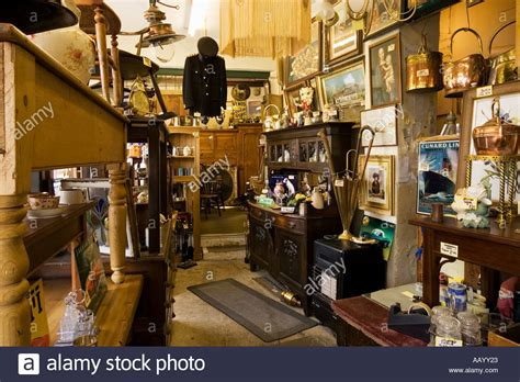 kitchen collectables store antiques store antique dealer shop interior england uk