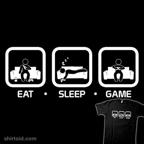 eat sleep shirtoid