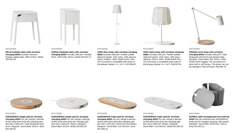 list of discontinued ikea products 100 list of ikea introduces wireless charging making life at home