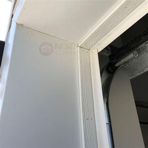 garage door stop molding weather seal weatherstripping