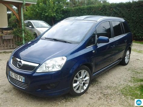 opel zafira 2010 achat opel zafira 1 9 cosmo pack sport 2010 d occasion pas
