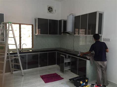 Kabinet Dapur Kaca Kabinet Dapur Ibs Focus Kontraktor Bina Rumah Ibs Selangor