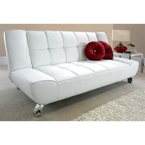 sofa bed white vogue sofa bed white