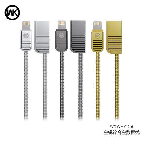 Wk Kabel Lightning Wdc 026 wk kabel micro usb wdc 026 black