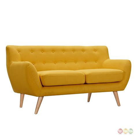 yellow sofas and loveseats yellow leather sofa and loveseat www gradschoolfairs com