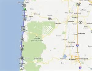 honeyman state park map my