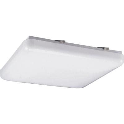 Fluorescent Light Fixtures Home Depot by Progress Lighting 3 Light White Fluorescent Fixture P7381