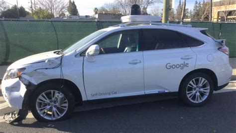 self driving car shows self driving car hit a cbs