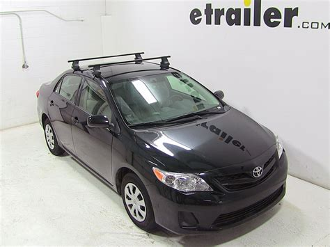 Roof Rack For Toyota Corolla Thule Roof Rack For 2013 Toyota Corolla Etrailer
