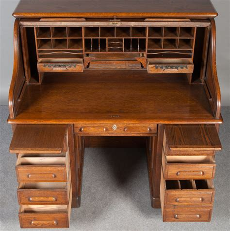solid oak roll top desk solid oak roll top desk antiques atlas