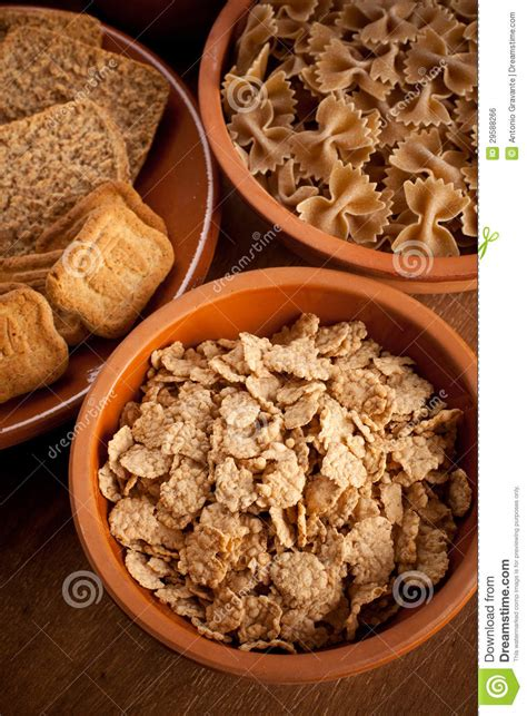 whole grains carbohydrates whole grain carbohydrates stock photo image of food
