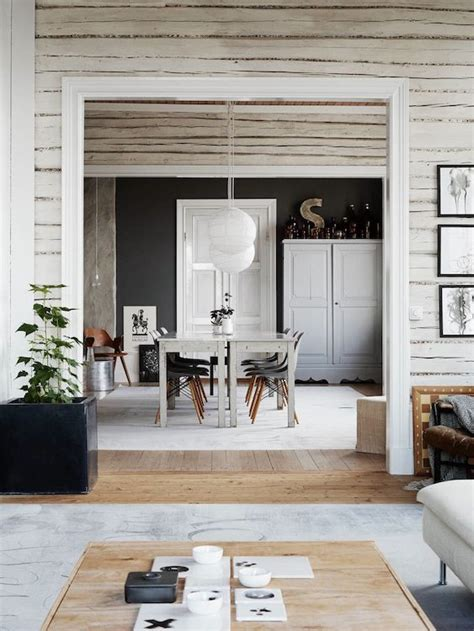 a truly swedish country home in monochrome my