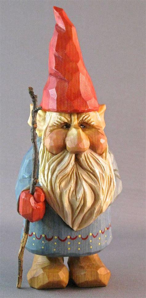gnome woodcarving elf scandinavian norwegian wood