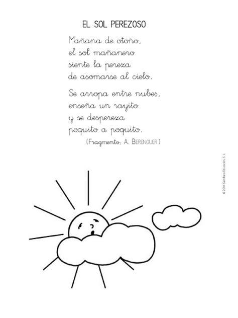 versos para dibujar 8430567186 maestra de infantil poes 237 as para educaci 243 n infantil