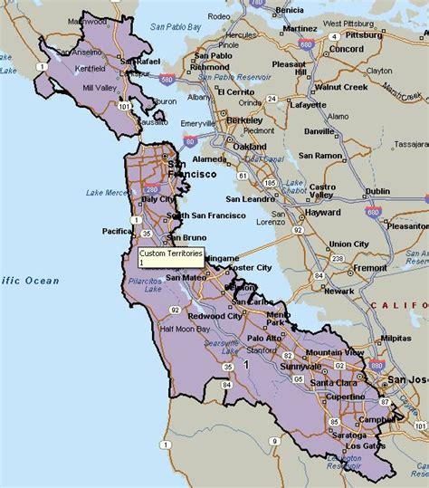 san francisco map with zip codes san francisco zip code map